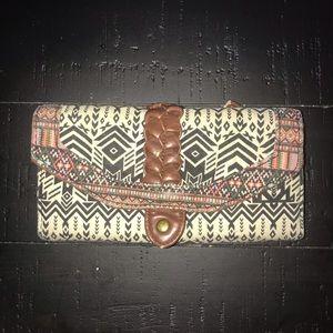 EUC Tribal Print Wallet